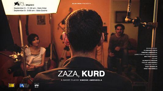 Simone Amendola 'Zaza, kurd'