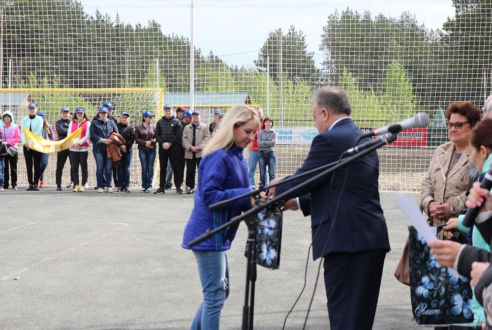Вручение призов и награждение победителей состоялось в рамках летней спартакиады судейского сообщества  Алтайского края