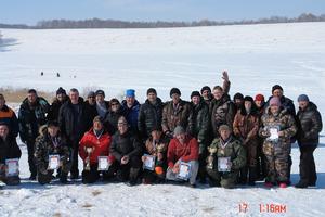 17 марта 2018г. проведено лично-командное первенство судейского сообщества Алтайского края по подлёдному лову на мормышку