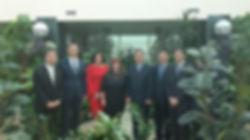Принимающая сторона и  делегация судей г. Шанхай Китайской Народной Республики