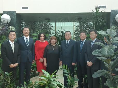 Визиты делегаций КНР, Республики Куба и Республики Перу