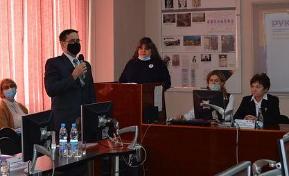 Судья волгоградского областного суда Гордейчик С.А. выступает на форсайт-встрече