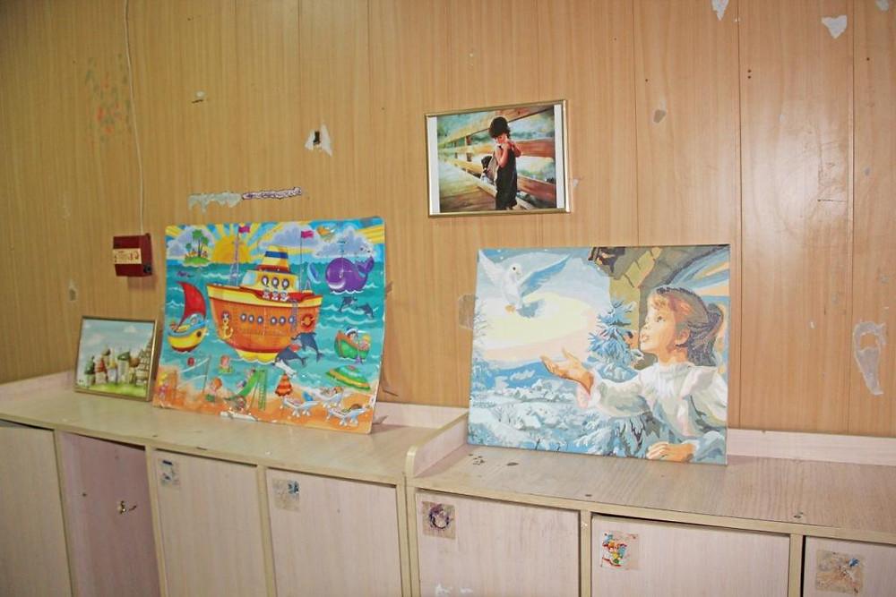 Творчество детей, живущих в кризисных центрах