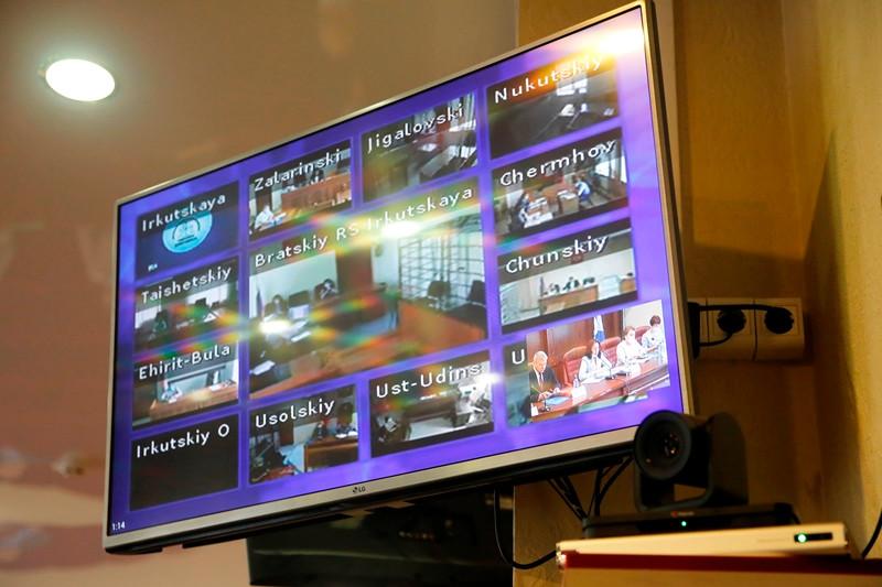 Режим видеоконференции