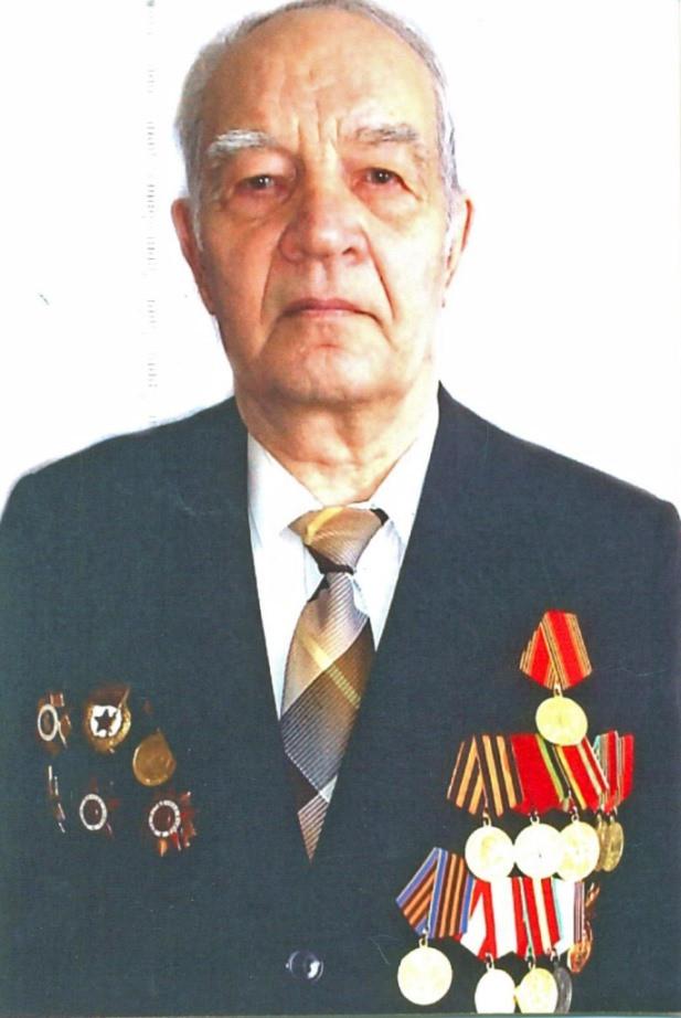 Ветеран ВОВ, председатель Калининского районного суда в отставке Александр Федорович Карцев