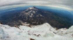 Вид с вулкана Корякский