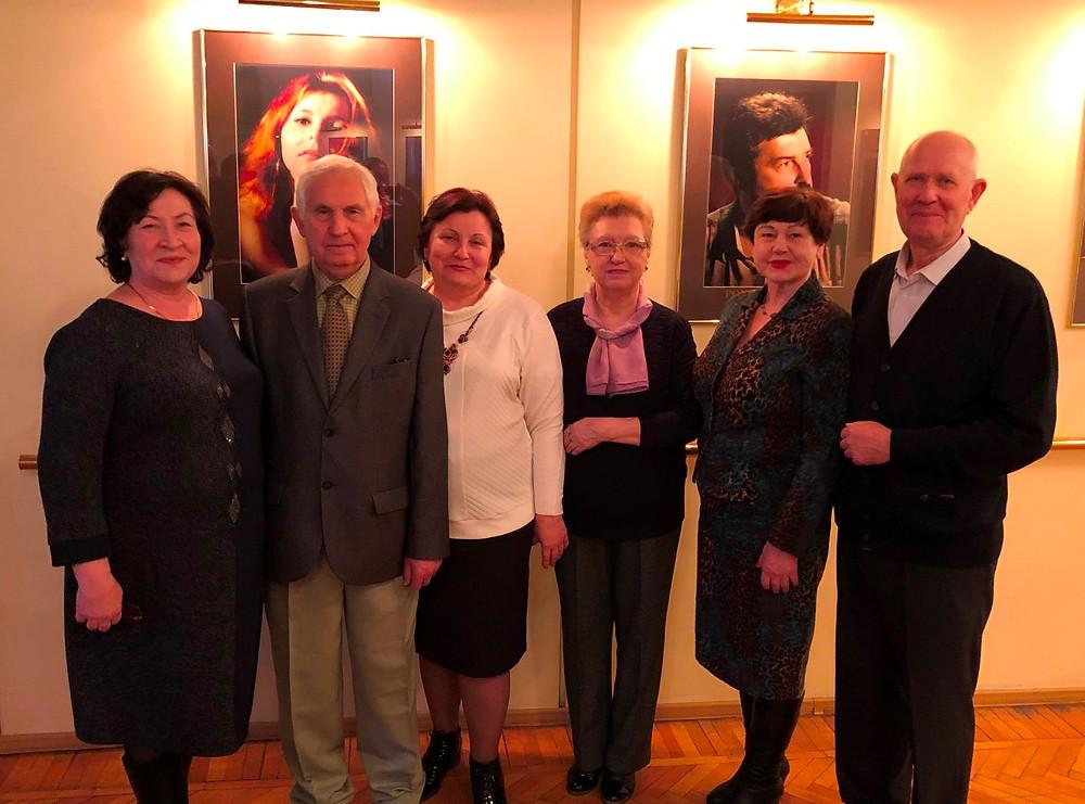 Судьи Саратовского областного суда в отставке в Саратовском академическом театре оперы и балета