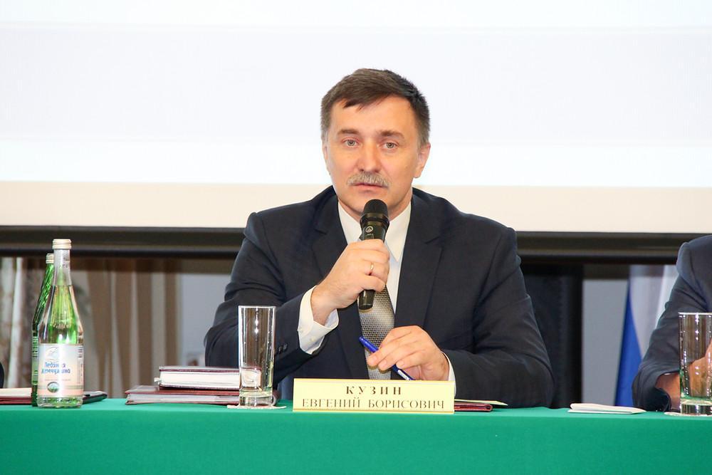 Выступление Евгения Борисовича Кузина на открытом заседании Совета судей