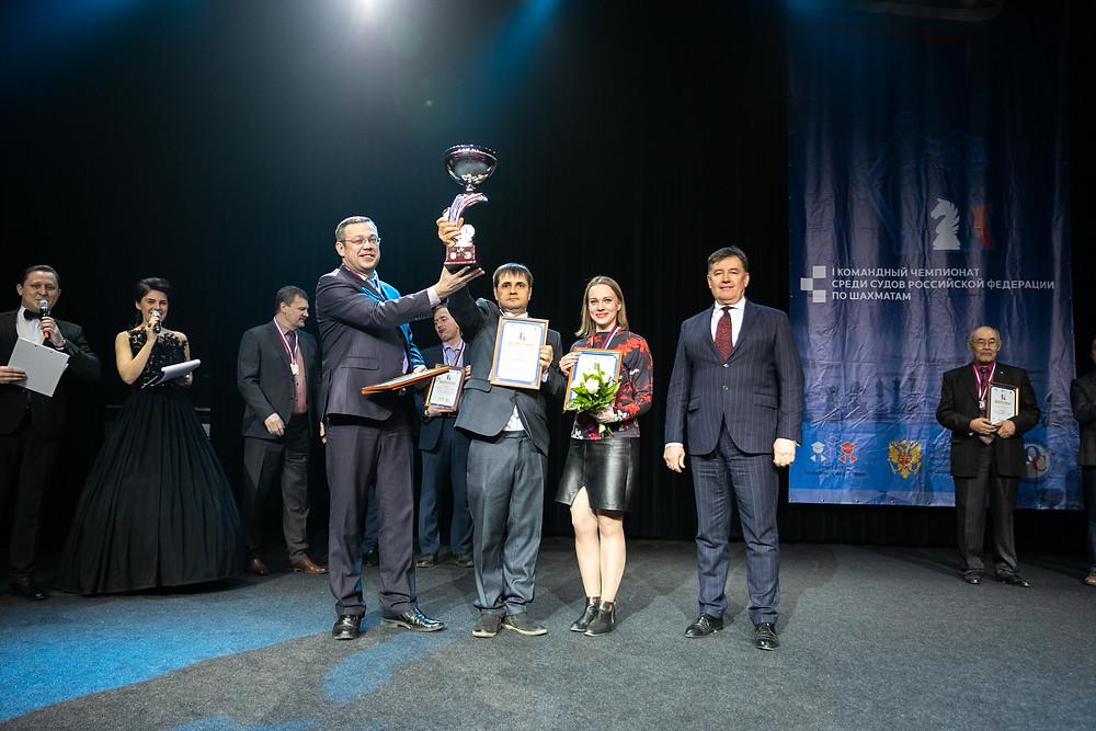Сборная Волгоградской области 1 место