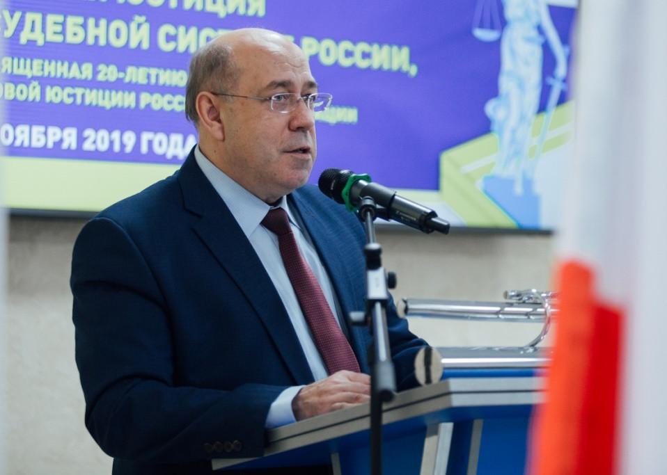 Председатель Саратовского областного суда Телегин Ф.В.