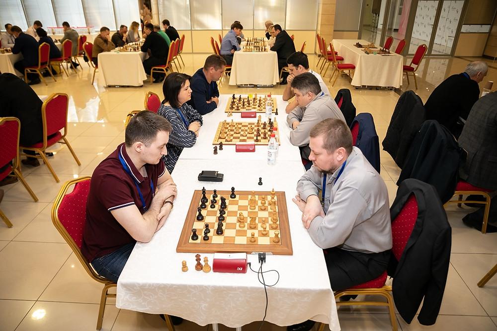 Туры чемпиона по шахматам в Казани