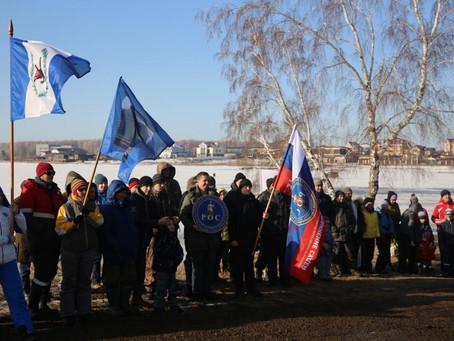 Состоялись соревнования по подледному лову рыбы среди служителей Фемиды Иркутской области.