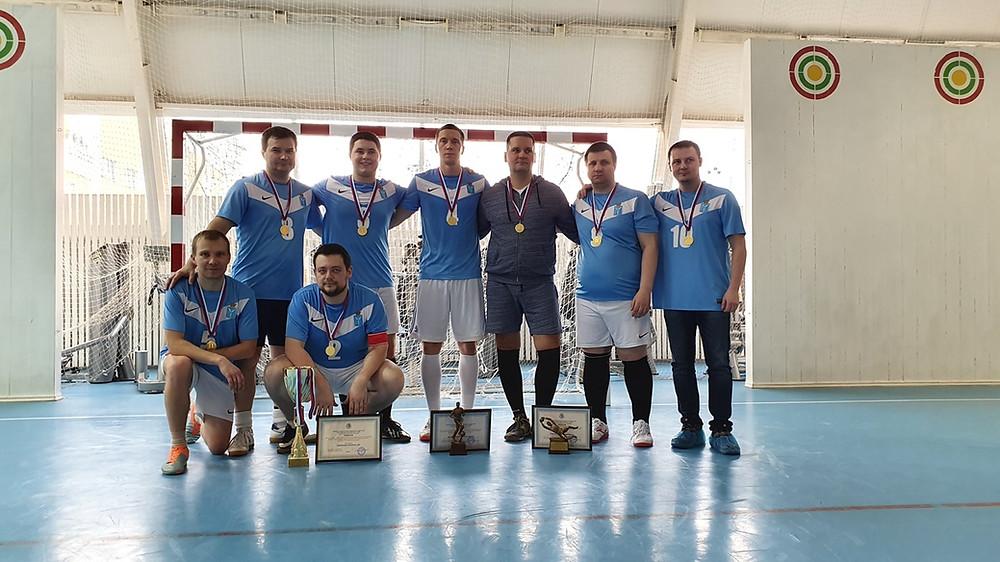 Команда по мини-футболу Саратовского областного суда