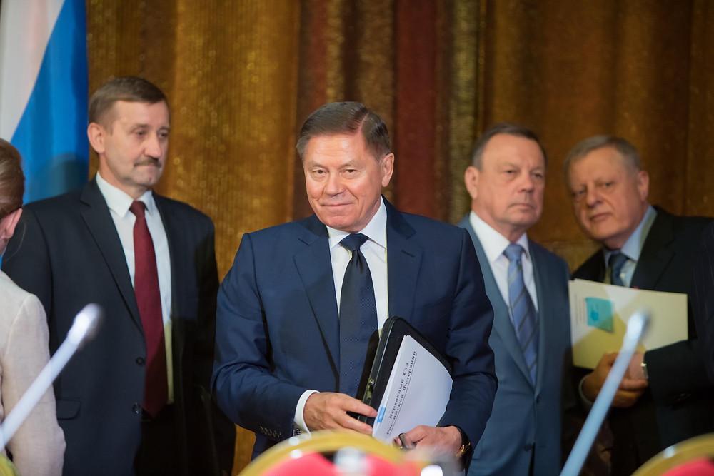 слева направо Тимошин Н.В., Лебедев В.М., Сидоренко Ю.И., Гусев А.В.