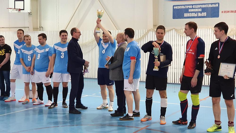 Награждение победителей турнира