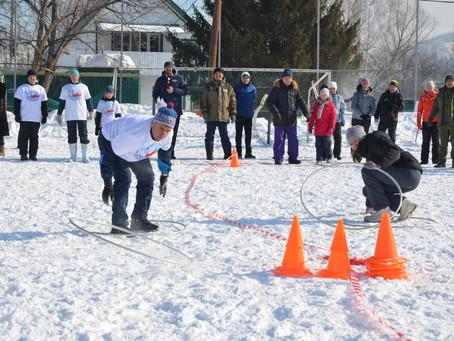 Зимняя Весёлка в Республике Алтай