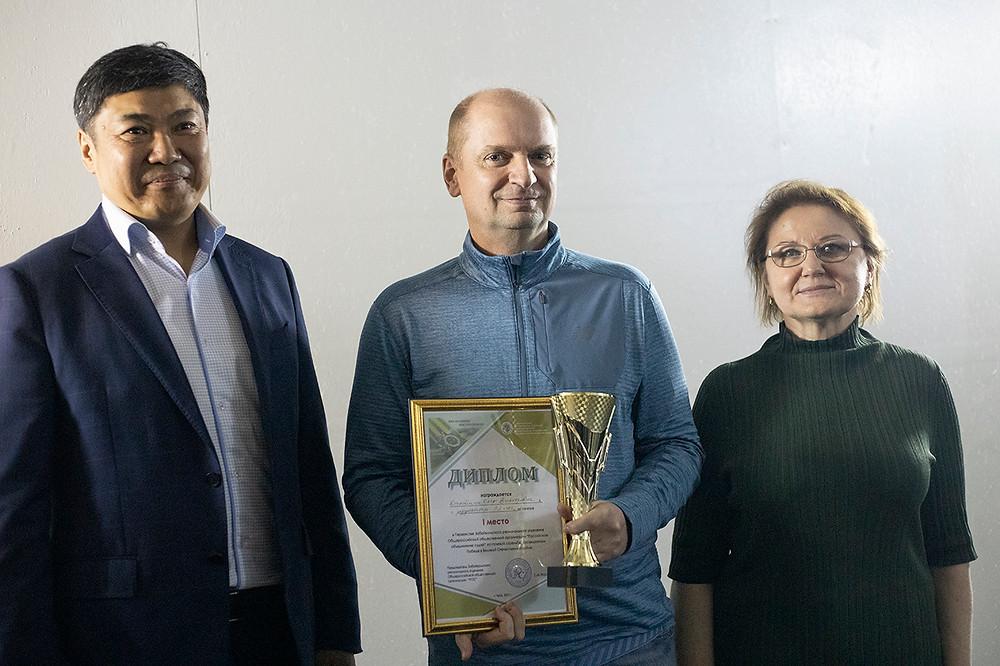 Председатель Забайкальского краевого суда Н.П.Шишкина c призерами первенства