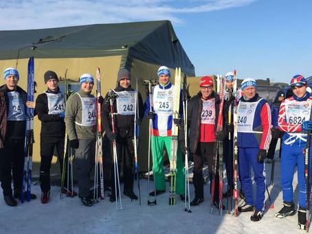 Члены РОС Саратовской области приняли участие в соревнованиях по лыжным гонкам «Лыжня России - 2020»