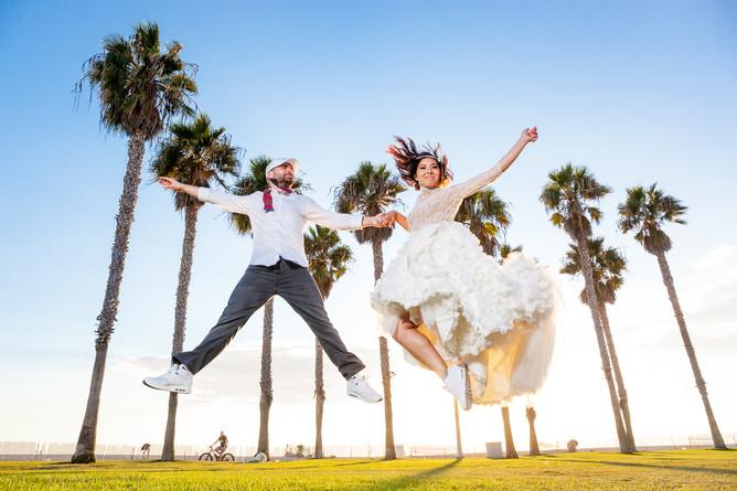 Свадьба Юли и Андрея в Лос-Анджелесе