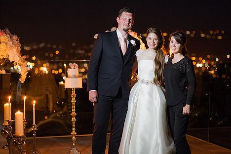 Свадьба в Санта-Барбаре, США