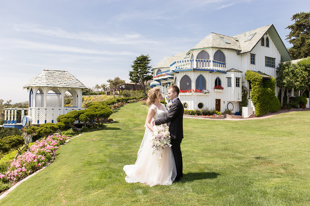 Свадебный день в Малибу, Калифорния