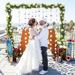 Юля и Андрей. Свадьба в Венис-Бич, Калифорния