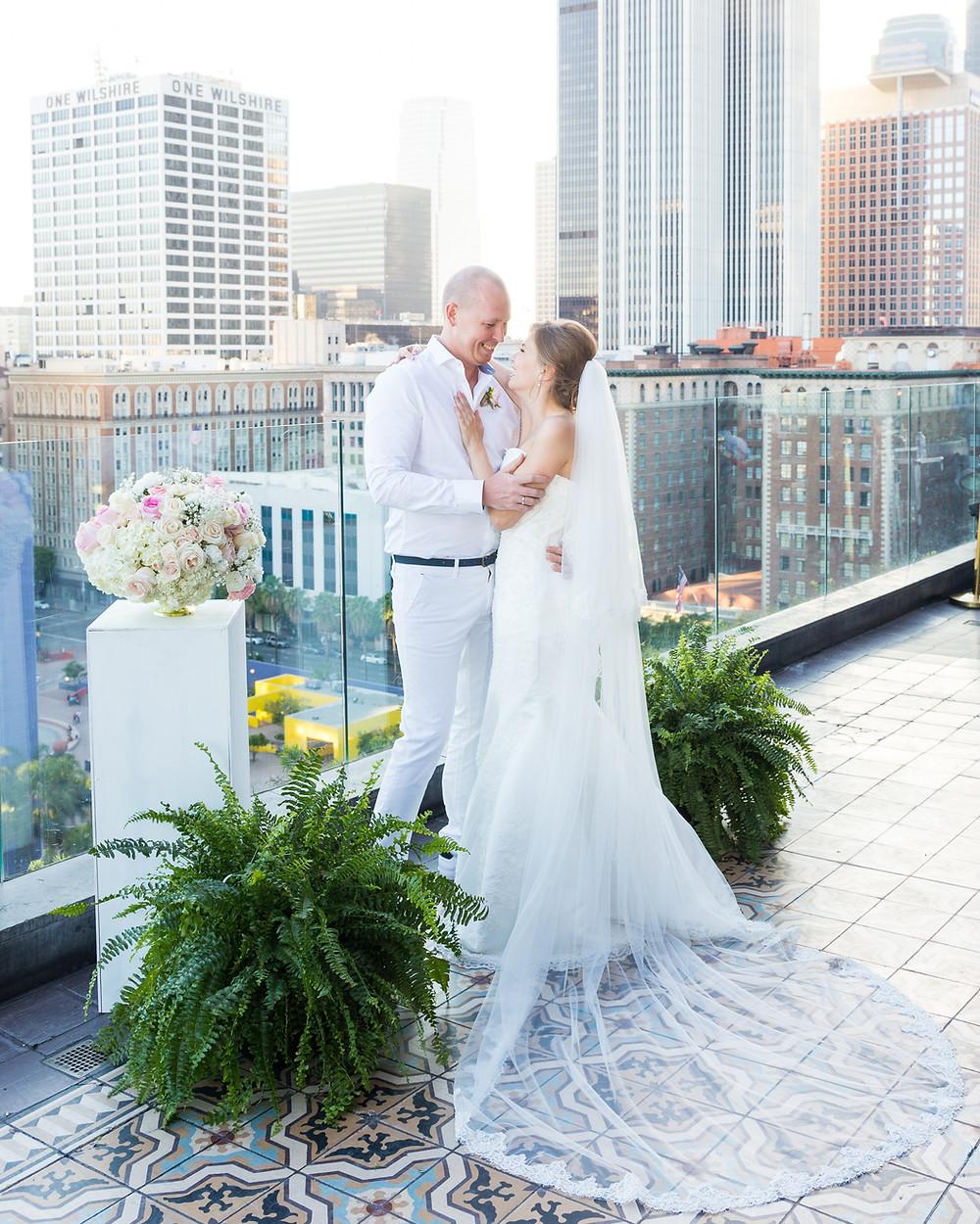 Свадебная церемония в Лос-Анджелесе