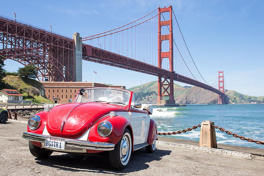 Наш автомобиль для свадьбы в Сан-Франциско. Как арендовать автомобиль в США?