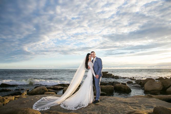 Свадьба для двоих в Сан-Диего, Калифорния.