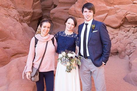 Свадьба в Антилоп Каньоне, Свадьба в ХорсШу, Аризона, Невада, Юта