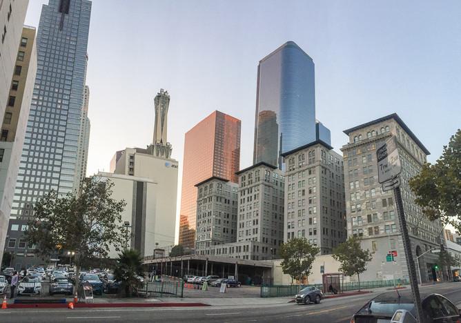 Свадьба в самом центре Лос-Анджелеса