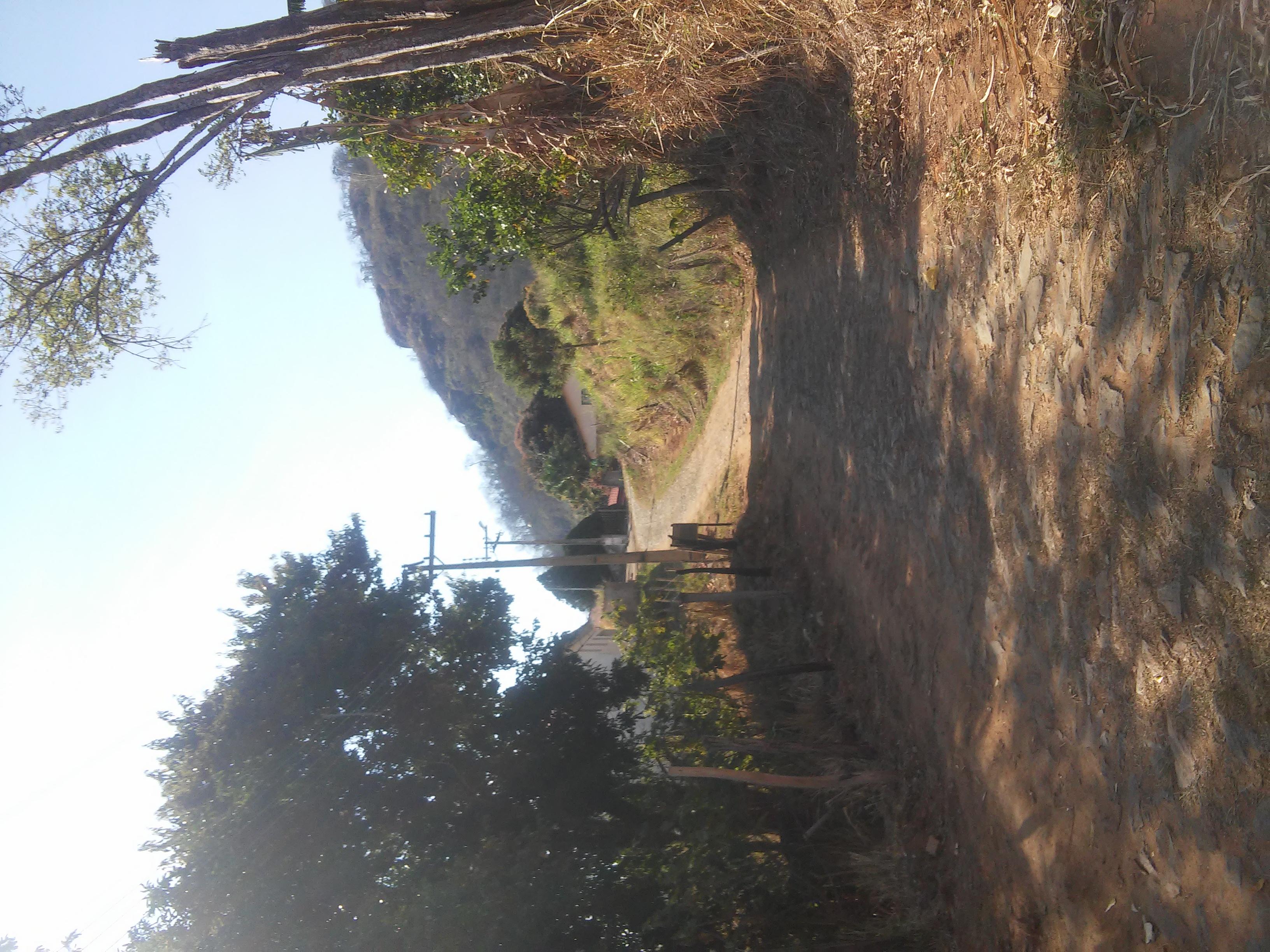 Calçamento de acesso a Sta. Montanha