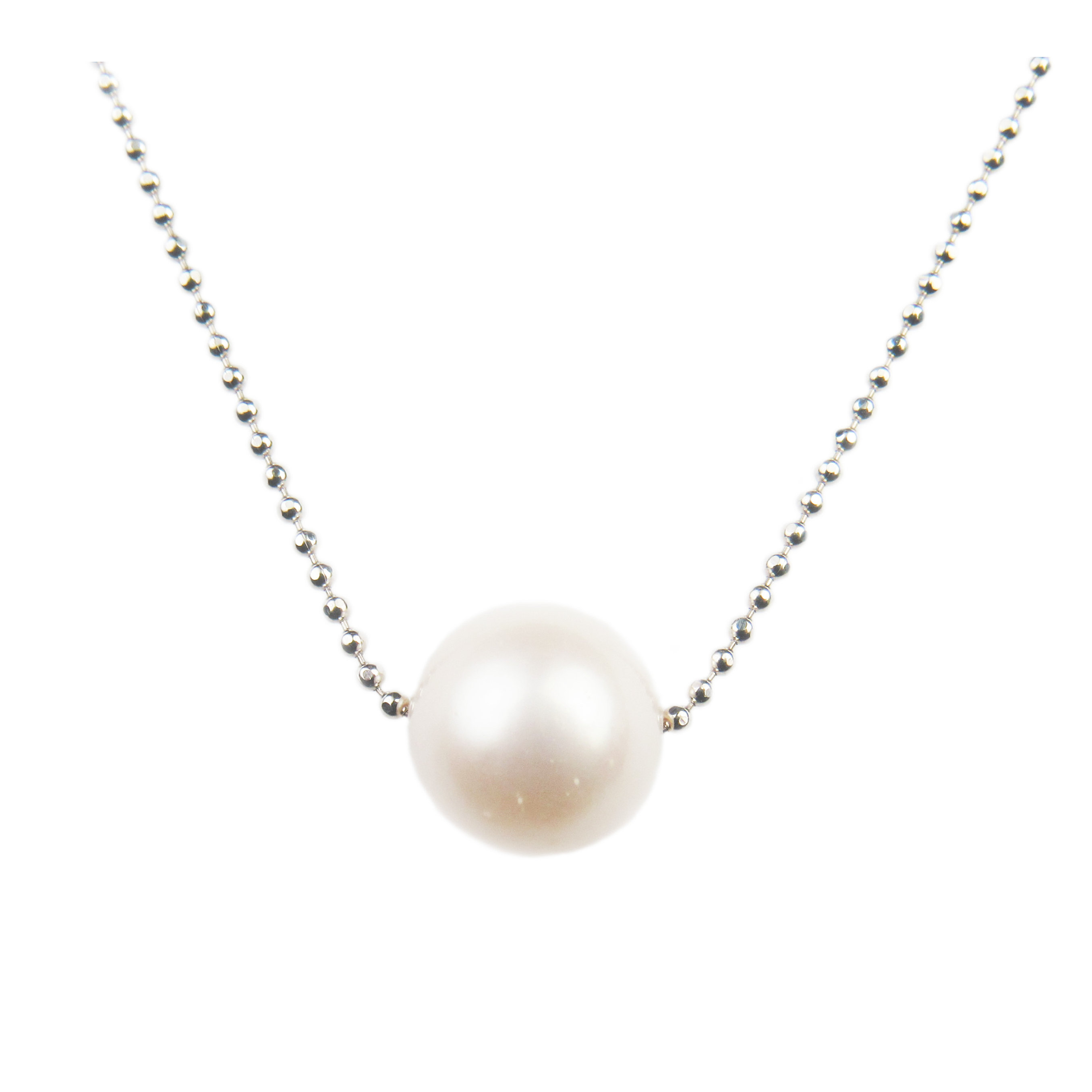single item jewels pearl bijoux freshwater necklace product