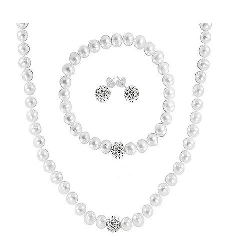 Regalia Cultured Freshwater Pearl Jewelry Set