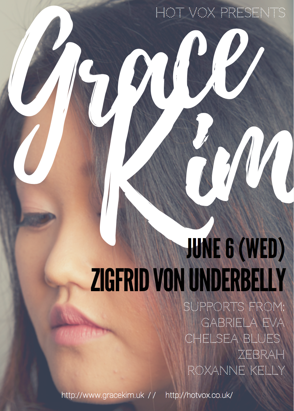 Grace Kim Headline at Underbelly