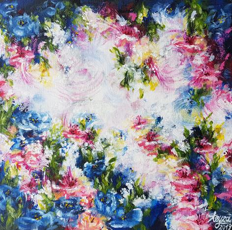 Mini kompozycja kwiatowa