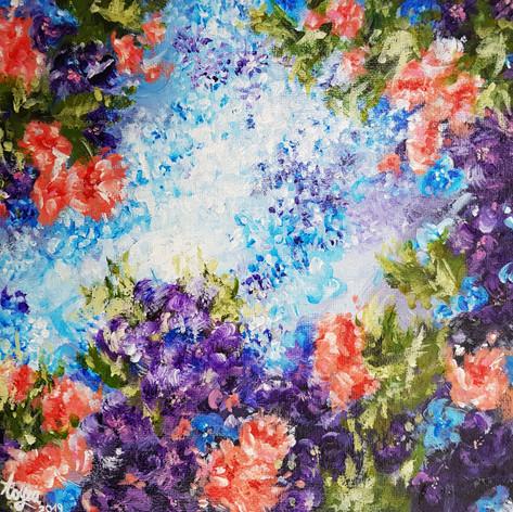 01 Mini kompozycja kwiatowa- 250zł