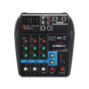 4-Channel Audio Mixer