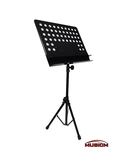 Music stand with double shelf