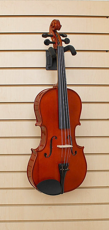 "Viola Solid Wood 16"" with Case Bow Brand New"