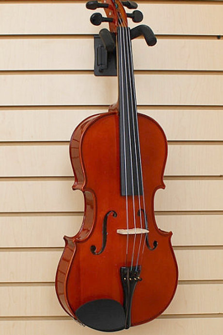 """Viola Solid Wood 16"""" with Case Bow Brand New"""