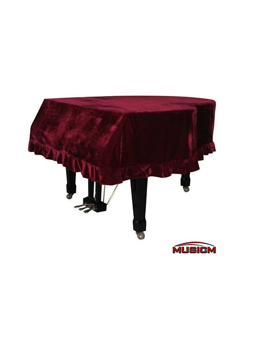 Grand Piano Cover Maroon (Jr. Size)