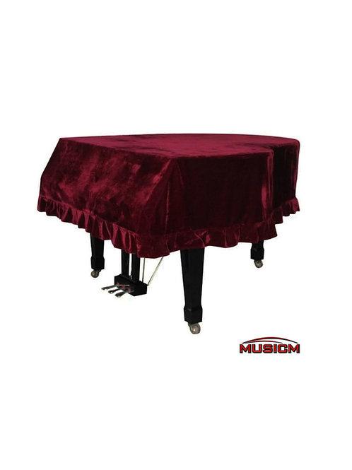 Grand Piano Cover Maroon (Jr. Size)