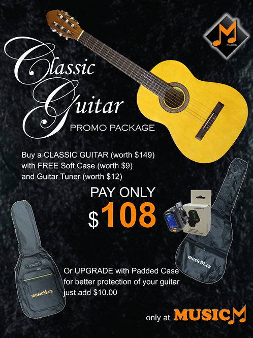 Classical Guitar Promo Package