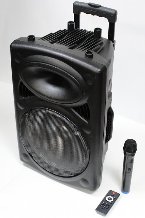 Blue Tooth Amplifier with wireless Microphone re-Chargeable