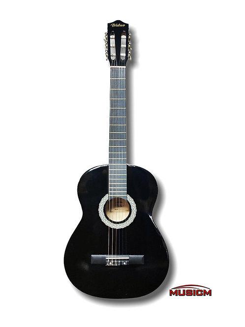 """Diduo Classical Guitar 39"""" Black"""