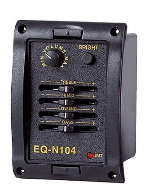 4-Bands EQ with Tuning Function N104