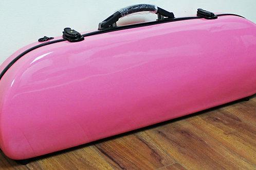 Fibre Glass Violin Case Pink