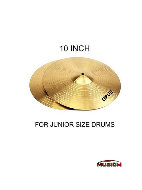 "Opus 10"" Hi-Hat Brass Cymbals"