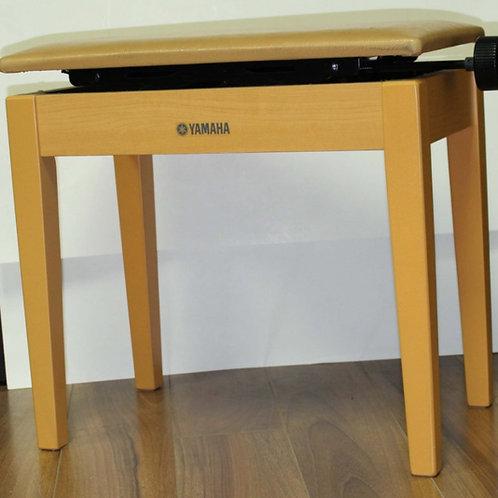 Yamaha Adjustable Piano Bench Honey Orange